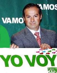 Marzo 2008. Antonio Marín Lara, alcalde de Ronda, secretario general provincial del PA en Málaga y candidato andalucista nº 1 por Málaga, furibundo en sus ataques a la Junta, antes de pasarse al PSOE.