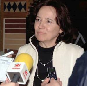 Concepción Gutíérrez, consejera de la competencia de Ordenación del Territorio en la Junta de Andalucía que llevó en dos ocasiones este proyecto ante los tribunales de justicia con resultados infructuosos