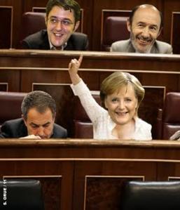 Merkel mandando