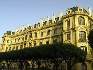 Palacio de la Tinta en Málaga, sede de donde dependen a través de la Cuenca Mediterránea Andaluza de la Junta de Andalucía las competencias en materia de agua.