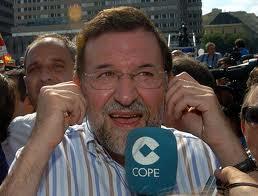 Rajoy ante la Cope