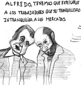 El traspaso nada tranquilo de Zapatero a Rubalcaba