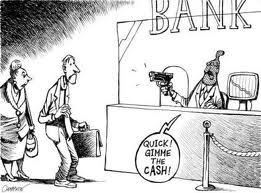 El banco atracando a un cliente con hipoteca con cláusula suelo
