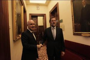 Rajoy y Duran, haciendo las paces de Cataluña con el resto de España