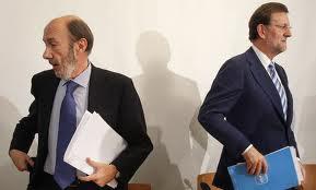 Un vivir sin vivir. Un incomprensible Rubalcaba que entra al juego de un Rajoy que está jugando con fuego en el asunto de Gibraltar.