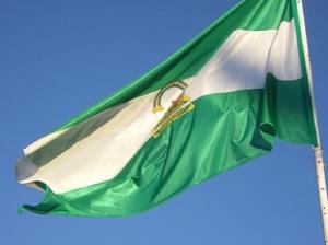 La bandera blanquiverde de Andalucía