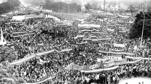 4 de diciembre 1977, Sevilla por la autonomía de Andalucía.
