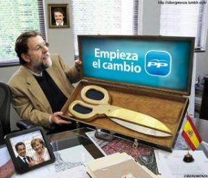 Las prontas medidas de Rajoy hundieron a Arenas
