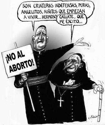 Curas contra el aborto, no contra la pederastia
