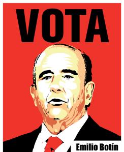 Emilio Botín, el que gana odas las elecciones sin presentarse.