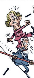Aguirre dispuesta siempre a complicarle a Rajoy su travesía en sus momentos más difíciles