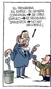 LAs mentiras de Rajoy