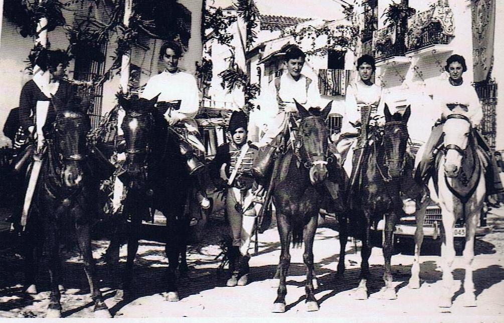 3 etc del coronel jimenatos a caballo paseo jimena