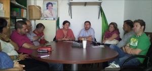 Antonia Muñoz, siempre gozó del apoyo de IU Manilva a cuyos miembros colocó en el ayuntamiento
