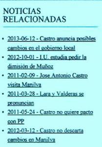 Las veces que Castro, responsable de IU en Málaga, ha dicho tomar medidas ¿Qué teme?