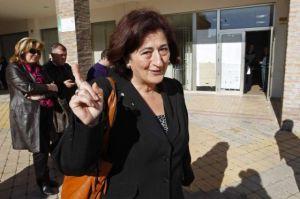 La alcaldesa de Manilva, Antonia Muñoz, ha dicho  que no se va.