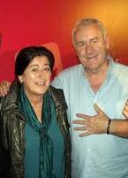 Cayo Lara, máximo responsable de IU, mayo del 2011 en apoyo a la alcaldesa de Manilva.