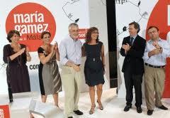 Designación de María Gámez, ultimo de julio 2010, como candidata a la alcaldía de Málaga con desprecio a los Estatutos del PSOE, y prohibiendo las primarias.