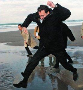 """Rajoy fue persona """"non grata"""" en muchas localidades costeras gallegas"""