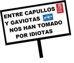 La permanente deslegitimación del bipartidismo PSOE-PP, protagonizado por el 15M, coincidente con las políticas neoliberales puestas en marcha por ZP, sin ser la única causa de su actual crisis, sí ha afectado más al voto socialista, al proceder de un entorno teórico y políticamente más próximo.
