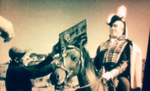 Vittorio de Sica Caballo rodaje 3 Etc del Coronel