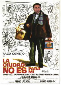 Paco Conejo, por su balance electoral político, el voto de la ciudad no es para él, emulando la filmografía de Paco Martínez Soria