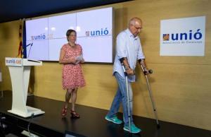 Duran i Lleida, con enmuletado, y cuyas diferencias con el Artur Mas, ñe ha obligado a dimitir, no por la corrupción