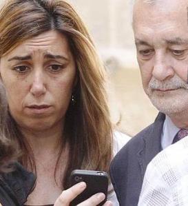 Griñán t Díaz, os dos máximos responsables de cuanto ocurre en el PSOE-A