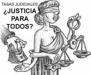 La tasa judicial,  Justicia para ricos