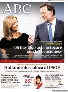 Mentirosa promesa, como todas las de Rajoy