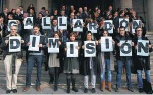 Todos los estamentos de la justicia en contra de Gallardón