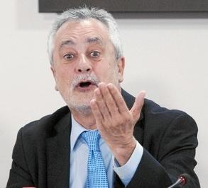 José A. Griñán, opinando que est´ça a favor o e