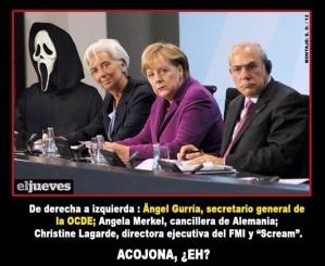 OCDE, Merkel, FMI y la Muerte