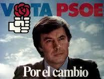 Cartel PSOE. Elecciones 1982