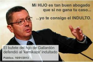 Tras la aplicación del tercer gradon a Cañamero, otro indulto escándalosos.