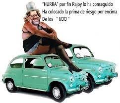 Con Rajoy, la prima de riesgo superó los 600 puntos