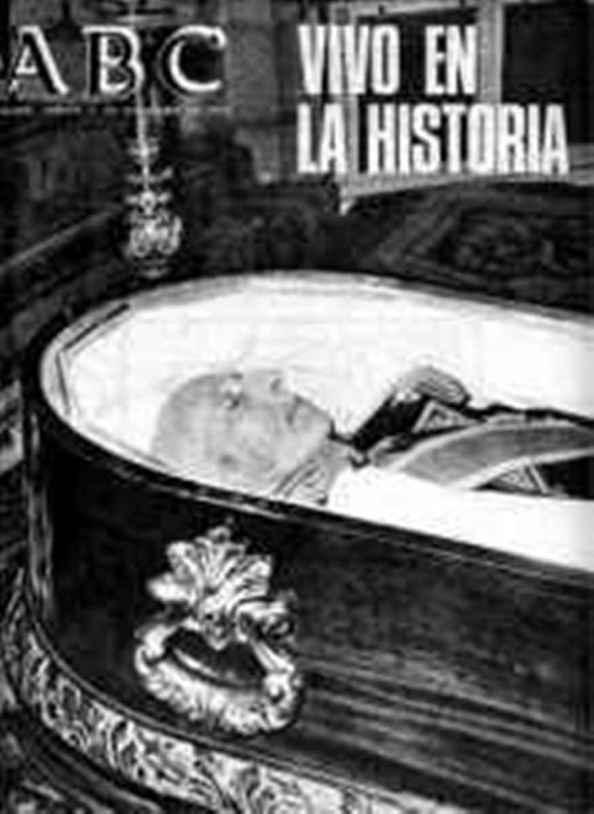 Muerte del Dictador en versión diario ABC