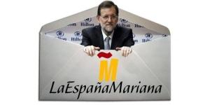 Rajoy, negándolo todo, se mete en el sobre de Luis Bárcenas