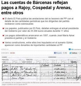 Los papeles que publica El País sobre esta trama corrupta