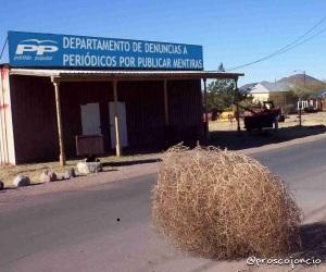 Oficina del PP para presentar denuncias