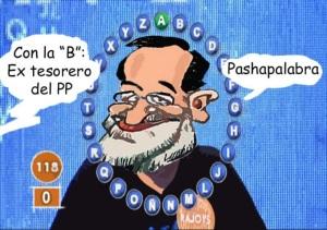 """Mucha verborrea por los dirigentes del PP, excepto por Rajoy que ni comparece ni """"sabe"""" decir el nombre Bárcenas"""