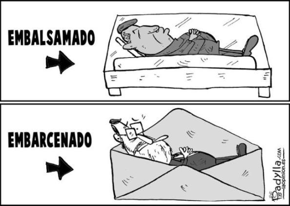 Lo que dió la semana: Hugo Chávez, embalsamado, y Rajoy embarcenado