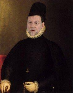 Rajoy el tramposo y el de las trampas, ya apodado Felipe II en Bruselas