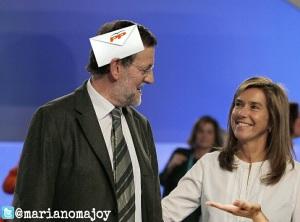 Sobres y matones persiguen a Rajoy