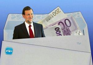 Rajoy, punta de lanza de los cobros del dinero negro procedente de Bárcenas