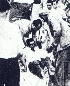 Centenares de heridos y seis muertos en el hundimiento de la plaza de toros