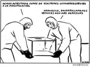 "Viñeta de ""El Roto""."
