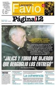 El papa Francisco I, ligado a oscuros sucesos durante la Dictadura militar argentina