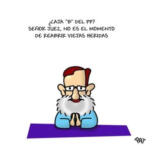 """Rajoy """"rogando"""" al juez"""