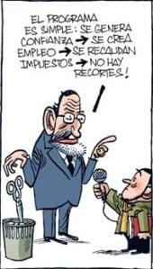 El programa que Dios manda de Rajoy con el que ganó las elecciones